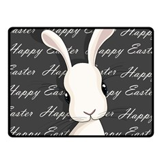 Easter Bunny  Fleece Blanket (small) by Valentinaart