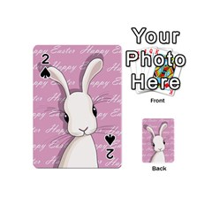 Easter Bunny  Playing Cards 54 (mini)  by Valentinaart