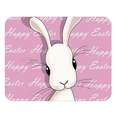 Easter Bunny  Double Sided Flano Blanket (large)  by Valentinaart