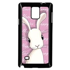 Easter Bunny  Samsung Galaxy Note 4 Case (black) by Valentinaart