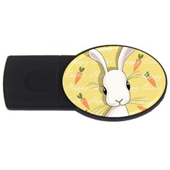 Easter Bunny  Usb Flash Drive Oval (2 Gb)