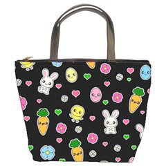 Easter Kawaii Pattern Bucket Bags