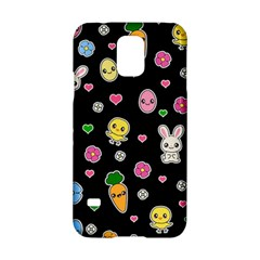 Easter Kawaii Pattern Samsung Galaxy S5 Hardshell Case  by Valentinaart