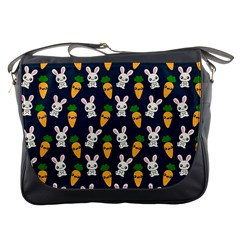 Easter Kawaii Pattern Messenger Bags