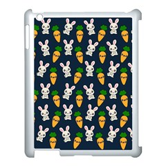 Easter Kawaii Pattern Apple Ipad 3/4 Case (white)