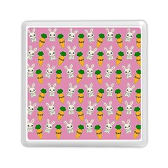 Easter Kawaii Pattern Memory Card Reader (square)  by Valentinaart