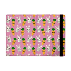 Easter Kawaii Pattern Apple Ipad Mini Flip Case by Valentinaart