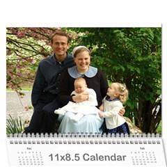Girls Calendar By Joyfulviktory   Wall Calendar 11  X 8 5  (12 Months)   50bf4yxlj3ck   Www Artscow Com Cover