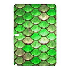 Green Mermaid Scale Samsung Galaxy Tab Pro 12 2 Hardshell Case by snowwhitegirl