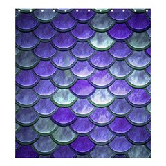 Blue Purple Mermaid Scale Shower Curtain 66  X 72  (large)  by snowwhitegirl