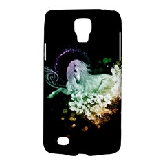 Wonderful Unicorn With Flowers Galaxy S4 Active by FantasyWorld7