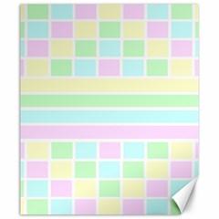 Geometric Pastel Design Baby Pale Canvas 20  X 24