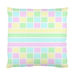 Geometric Pastel Design Baby Pale Standard Cushion Case (two Sides)
