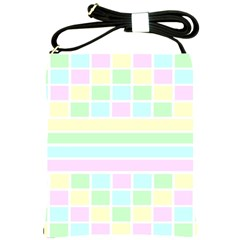 Geometric Pastel Design Baby Pale Shoulder Sling Bags