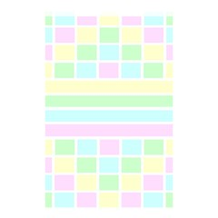 Geometric Pastel Design Baby Pale Shower Curtain 48  X 72  (small)