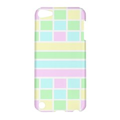 Geometric Pastel Design Baby Pale Apple Ipod Touch 5 Hardshell Case