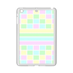 Geometric Pastel Design Baby Pale Ipad Mini 2 Enamel Coated Cases