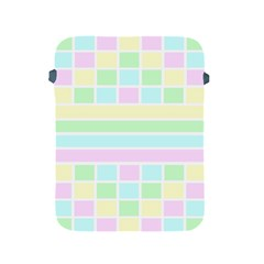 Geometric Pastel Design Baby Pale Apple Ipad 2/3/4 Protective Soft Cases