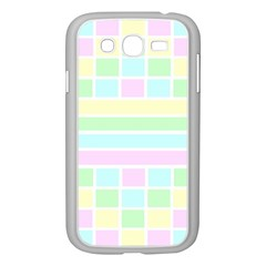 Geometric Pastel Design Baby Pale Samsung Galaxy Grand Duos I9082 Case (white)