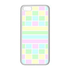 Geometric Pastel Design Baby Pale Apple Iphone 5c Seamless Case (white)