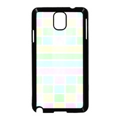 Geometric Pastel Design Baby Pale Samsung Galaxy Note 3 Neo Hardshell Case (black)