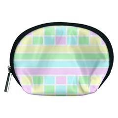 Geometric Pastel Design Baby Pale Accessory Pouches (medium)