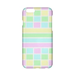 Geometric Pastel Design Baby Pale Apple Iphone 6/6s Hardshell Case