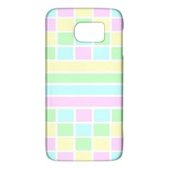 Geometric Pastel Design Baby Pale Galaxy S6