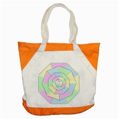 Color Wheel 3d Pastels Pale Pink Accent Tote Bag by Nexatart