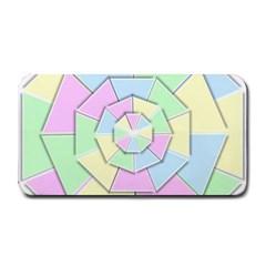 Color Wheel 3d Pastels Pale Pink Medium Bar Mats