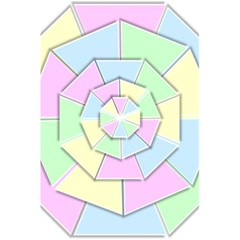 Color Wheel 3d Pastels Pale Pink 5 5  X 8 5  Notebooks by Nexatart