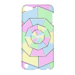 Color Wheel 3d Pastels Pale Pink Apple Ipod Touch 5 Hardshell Case