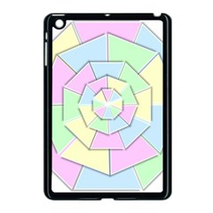 Color Wheel 3d Pastels Pale Pink Apple Ipad Mini Case (black)