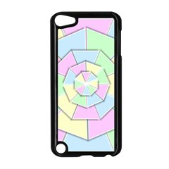Color Wheel 3d Pastels Pale Pink Apple Ipod Touch 5 Case (black)