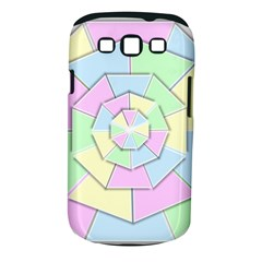 Color Wheel 3d Pastels Pale Pink Samsung Galaxy S Iii Classic Hardshell Case (pc+silicone)