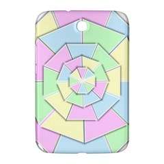 Color Wheel 3d Pastels Pale Pink Samsung Galaxy Note 8 0 N5100 Hardshell Case
