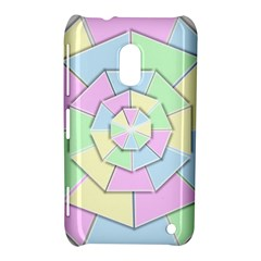 Color Wheel 3d Pastels Pale Pink Nokia Lumia 620 by Nexatart