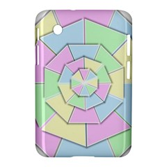 Color Wheel 3d Pastels Pale Pink Samsung Galaxy Tab 2 (7 ) P3100 Hardshell Case
