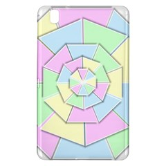 Color Wheel 3d Pastels Pale Pink Samsung Galaxy Tab Pro 8 4 Hardshell Case