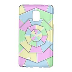 Color Wheel 3d Pastels Pale Pink Galaxy Note Edge