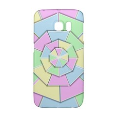 Color Wheel 3d Pastels Pale Pink Galaxy S6 Edge