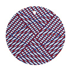 Abstract Chaos Confusion Ornament (round)