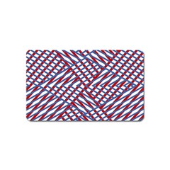 Abstract Chaos Confusion Magnet (name Card)