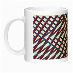 Abstract Chaos Confusion Night Luminous Mugs