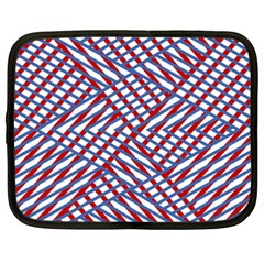 Abstract Chaos Confusion Netbook Case (xxl)