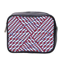 Abstract Chaos Confusion Mini Toiletries Bag 2 Side