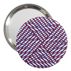 Abstract Chaos Confusion 3  Handbag Mirrors
