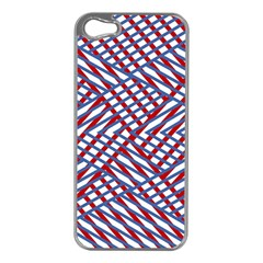 Abstract Chaos Confusion Apple Iphone 5 Case (silver)