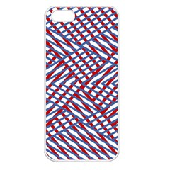 Abstract Chaos Confusion Apple Iphone 5 Seamless Case (white)