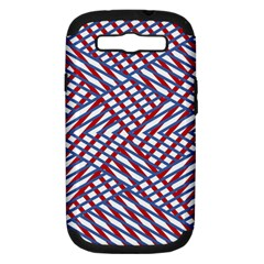 Abstract Chaos Confusion Samsung Galaxy S Iii Hardshell Case (pc+silicone)